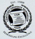 Certified Graduate Remodelor